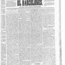 Las obras y la inauguración del tren de Mataró (1848) según la prensa