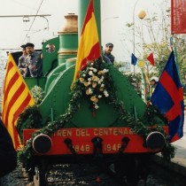 Els plànols del Tren del Centenari es guarden a Mataró