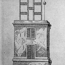 Les torres del telègraf del Turó de Montgat