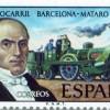 La filatèlia del tren de Mataró