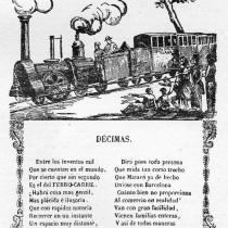 Imatgeria popular del tren de Mataró
