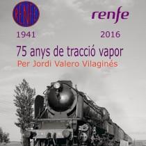 Exposició «75 anys de tracció a vapor a Renfe», a la biblioteca Pompeu Fabra