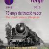 Exposició 75 anys de tracció a vapor a Renfe, de Jordi Valero
