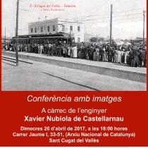 100 anys del ferrocarril entre Barcelona i el Vallès