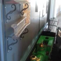 Donació al Museu del Ferrocarril d'un carril originari de 1848