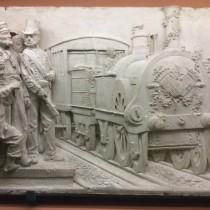 El tren al Museu de Mataró