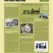 La catalogació del patrimoni cultural del ferrocarril de Mataró: Jornada Recercat a Manresa