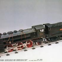 Exposició de trens metàl.lics d'antany, al Tecnocampus
