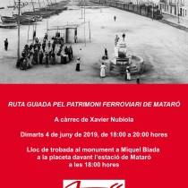 Èxit de la Ruta pel patrimoni ferroviari de Mataró