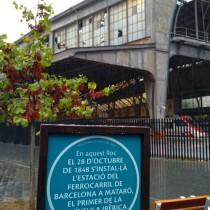 170 aniversari del ferrocarril Barcelona-Mataró