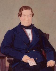 Ramon Maresch, President de l'Empresa del ferrocarril entre 1844 i 1847 (Arxiu família Maresch)