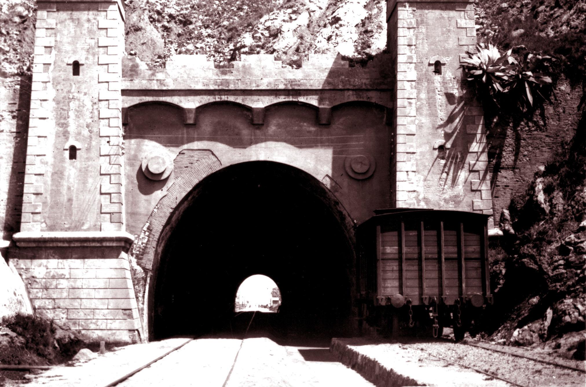 El túnel de Montgat va quedar perforat el 8 d'octubre de 1847
