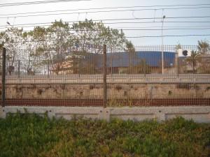 Mur de contenció a Premià