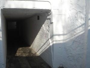 Pas inferior d'accés al port de Premià de Mar