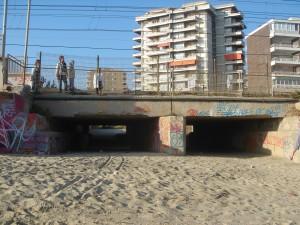 Pont sobre la riera de Cabrils, a Vilassar
