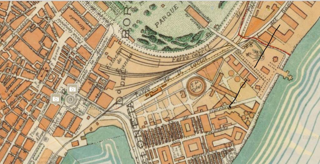 estacio Barcelona planol 1891