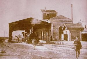 Primitiva estació de Mataró, 1848-1957