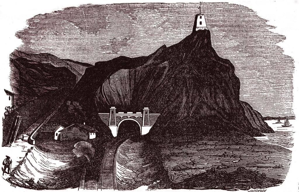 """Gravat publicat al periòdic madrileny """"La Ilustración"""" el 19 de maig de 1849"""