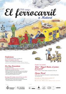 Nueva ruta Miguel Biada Buñol, el primer ferrocarril