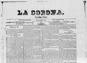La_Corona_7_juny _1858_Fajas_i_Soler_1