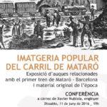 Museu Cabrils expo Tren Mataró