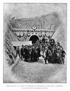 tunel argentera