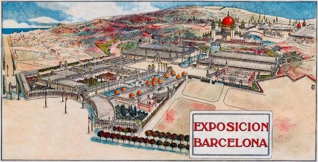disseny Expo PuigCadafalch 1915